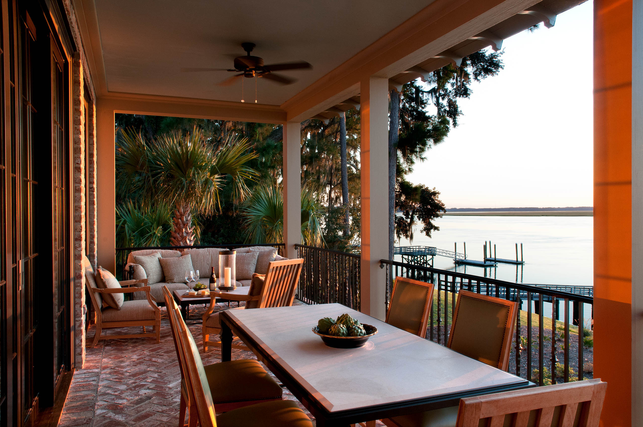 South Carolina Residence Veranda, ForrestPerkins Design Associates