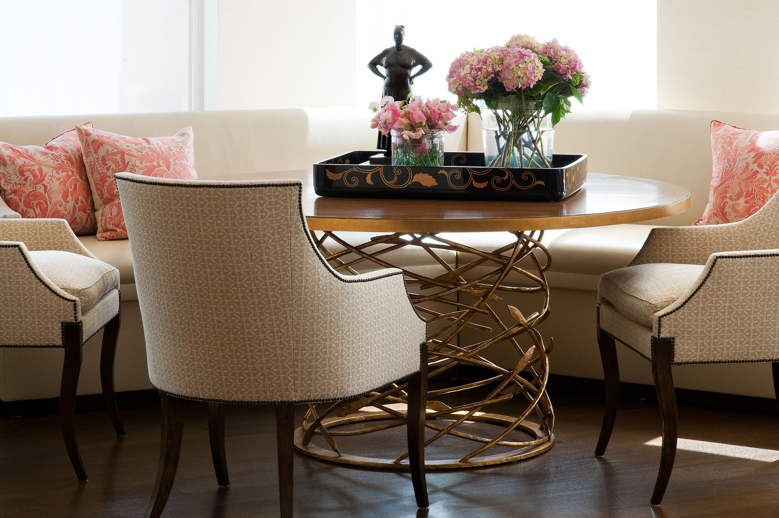 San Francisco Residence Dining Room Vignette, Stephan Jones Interiors