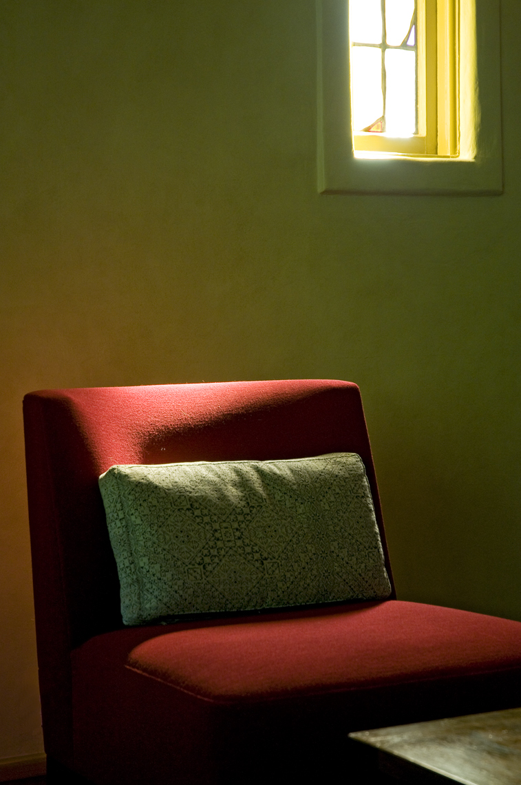 Hutt Outpost Chair and Window in Office